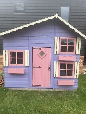 Kids Wooden 2 Storey Play House • 395£