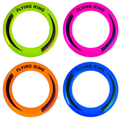 10  Flying Disk Ring Frisbee Kids Adult Family Garden Beach Outdoor Game Toy • 2.95£