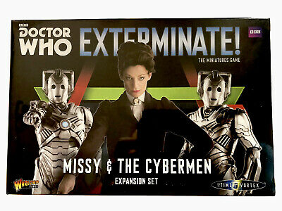 Doctor Who Exterminate - Missy & The Cybermen Expansion Set (Warlord Games) • 29.99£