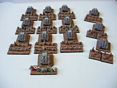 EPIC 40K Space Marine Tactical Detachment - Well Painted - 6mm Scale • 12£