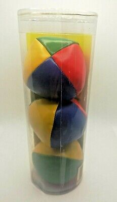 Learn To Juggle Set Of 3 X Coloured Juggling Balls, New, Sealed • 1.95£