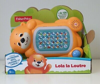 Fisher-Price Linkimals Lola La Loutre Educational Interactive Baby FRENCH - New • 30£