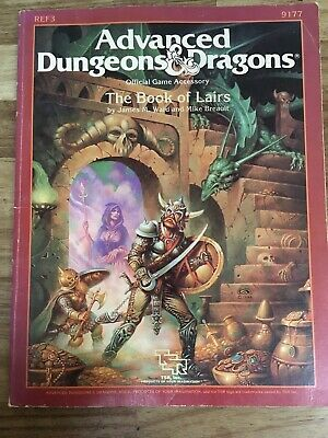 AD&D The Book Of Lairs VGC • 14.99£