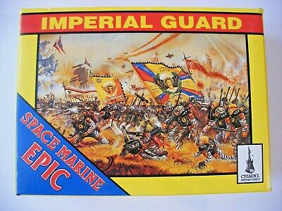 EPIC 40K Imperial Guard - EPIC Box - 6mm Scale - Incomplete • 8.50£