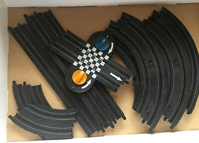 Micro Scalextric Track Bundle Lap Counter Straights Bends • 6.50£