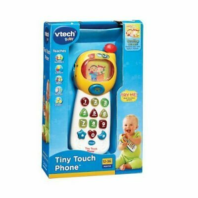 Vtech Phone Tiny Touch Baby Let's Pretend Educational Hand Eye Coordination • 12.99£