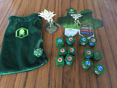 Heroscape Crest Of The Valkyrie Acolarh + Gamecard And Dice Used Condition • 30£