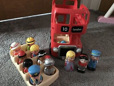 Elc Happyland Red London Bus Toy • 14£