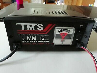 TMS MM 15 Nicad Battery Charger - All Proceeds To Charity • 2£