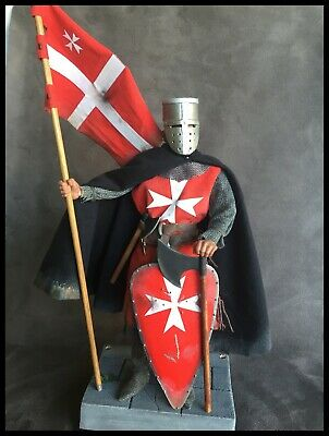 "Custom 12"" Knight Of The Order Of Malta Figure 1/6 Scale. • 85£"