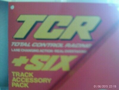 TCR Track By Ideal, New In Box Rare 6 Pieces • 7.50£