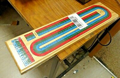 3 Player Cribbage Board • 5.50£