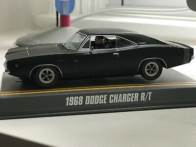 Pioneer Slot Car Stealth Edition 68 Dodge Charger  • 25£