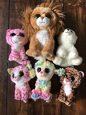 Bundle Of Beanie Boo Toys- 6 In Total, 1 Bnwt • 10£