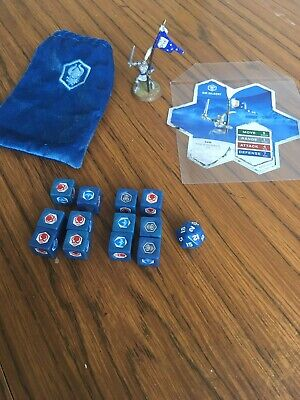 Heroscape Crest Of The Valkyrie Sir Gilbert + Gamecard And Dice Used Condition • 39£