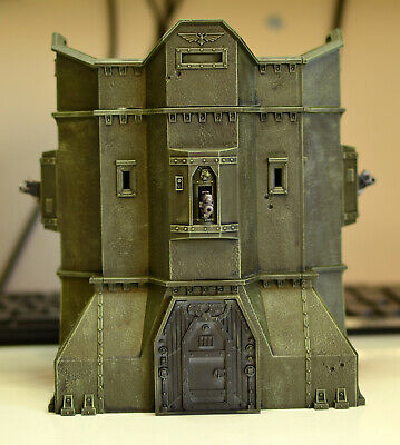 Sector Imperialis And Bastien Warhammer 40,000 Scenery • 19£