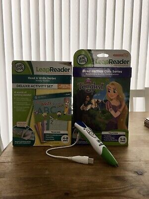 Leapfrog Pen & Charger With A Brand New Activity Set And Interactive Book • 14.99£