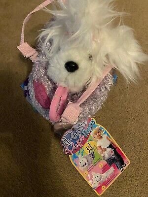 Pucci Pups Flopeez Maltese Dog - Brand New With Tagg • 14.99£