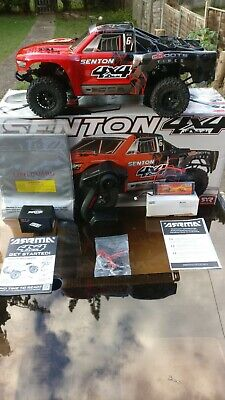 Brushless Arrma Senton 4x4 3s 70mph+ RTR, Inc 2s Battery, Charger And Warranty • 93£