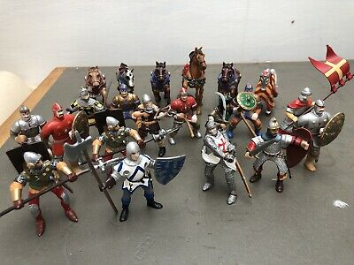 Knights And Horses - Models, Toys, Figures Battle PAPO & ELC  • 3.20£