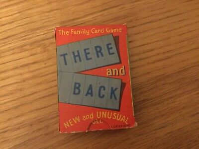 """Vintage """"There And Back"""" Card Game • 9.99£"""