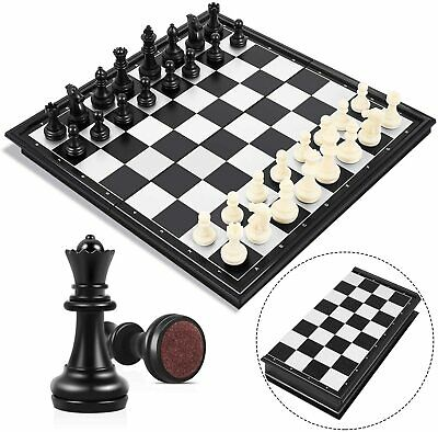 LARGE Magnetic Folding Chess Board Portable Set With Pieces Games Sport  • 9.99£