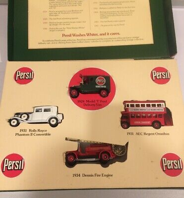 Boxed Lledo Die Cast Model Collector Persil The Vintage Collection Van Set • 14.99£