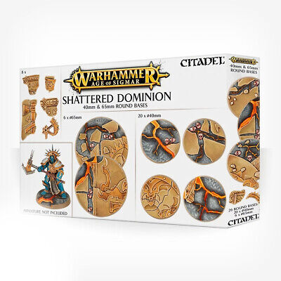 Aos: Shattered Dominion: 65 & 40mm Round • 19.13£