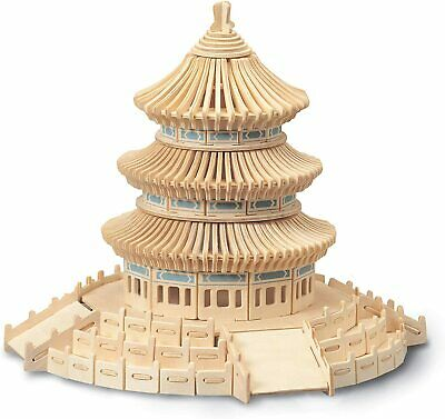 Temple Of Heaven Woodcraft Construction Kit • 14.25£