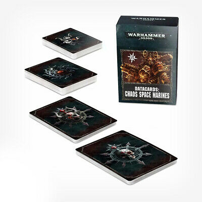 Datacards: Chaos Space Marines 2 (English) • 10.20£