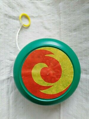 Vintage Retro 1970s Giant Green YoYo • 5£