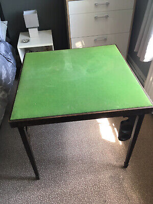 Vintage Folding Card Or Games Table • 10£