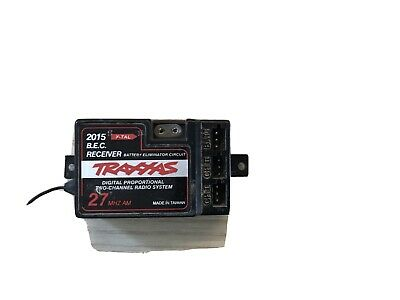 Traxxas 2015 27MHz 2ch Rc Car Receiver • 10£