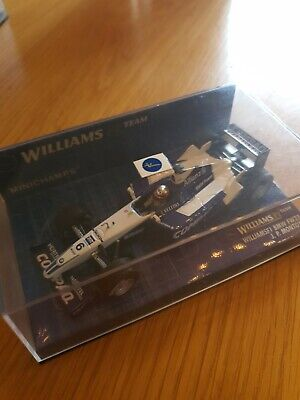 Minichamps; Williams BMW FW23; 2001 Spanish GP 2nd; JP Montoya; Excellent Boxed • 5.50£