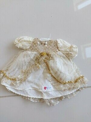 Ty Gear Gold Sparkly Dress RARE VINTAGE • 9.99£