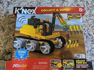 Knex Collect And Build Construction Crew - Giant Excavator With Sounds 5+ • 15£