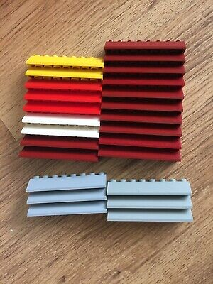 Lego 25 Slope 45 2 X 8 Assorted Colours 4445 • 2.85£