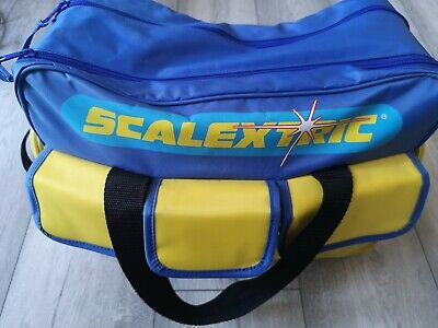 Scalextric Set With Official Bag & Extras • 0.99£
