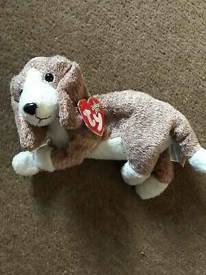 TY Beanie Babies Sniffer The Dog • 2£