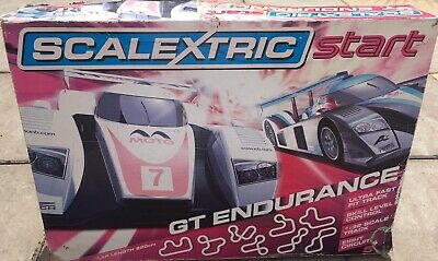 Scalextric Start Gt Endurance Track And Car With Controller • 0.99£