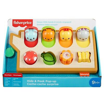 Fisher Price Hide & Peep Pop Up Activity Toy • 26.99£