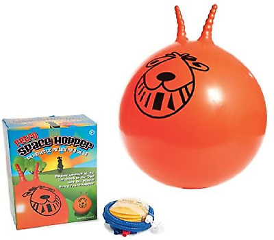 Retro 60cm Space Hopper With Pump Bouncy Ball Suitable For Kids And Adults • 11.90£