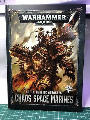 Warhammer 40,000 Chaos Space Marine Codex Version 2 • 2.60£