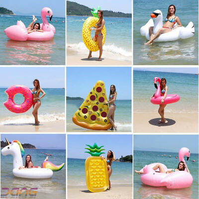Hot Inflatable Giant Swim Pool Floats Raft Swimming Fun Water Sports Beach Toy  • 12.69£