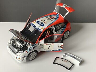 Action Models Ford Focus WRC 1999 Rally Portugal Colin McRae Nicky Grist 1:18 • 40£