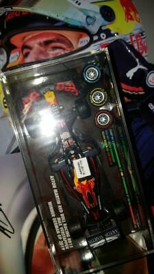 MINICHAMPS 1:43 Max Verstappen Red Bull Racing F1 Germany Win 2019 Winner - Rare • 159.95£