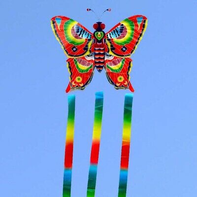 Outdoor Flying Kite Toys Fun Sports Kites Without Line Butterfly Children Kids- • 3.69£