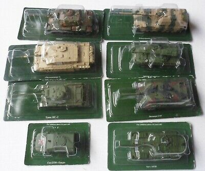 Russian Die-cast Military Vehicle - 1 X Armed Vehicle - 7 X Tanks  • 29.99£