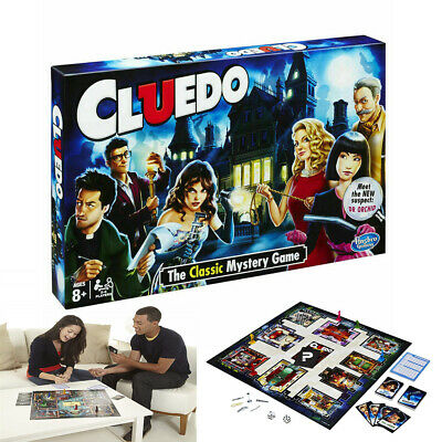 Cluedo The Classic Mystery Board Game Perfect Family Game New • 14.99£