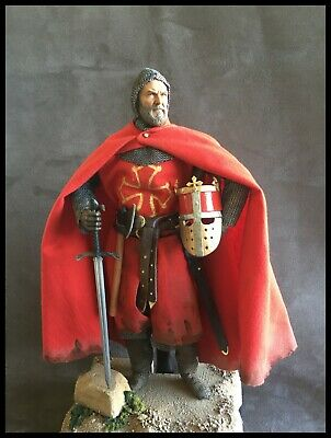 Custom 12  Knight Count Raymond Iv Of Toulouse Figure 1/6 Scale. • 95£